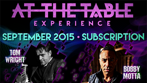At The Table September 2015 Subscription Video DOWNLOAD - MichaelClose.com