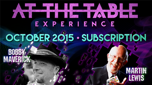 At The Table October 2015 Subscription Video DOWNLOAD - MichaelClose.com