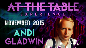At the Table Live Lecture Andi Gladwin November 18th 2015 video DOWNLOAD - MichaelClose.com
