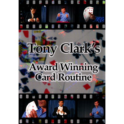 Award Winning Card Routine Tony Clark - DOWNLOAD