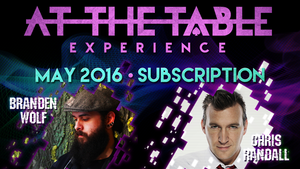 At The Table May 2016 Subscription Video DOWNLOAD - MichaelClose.com