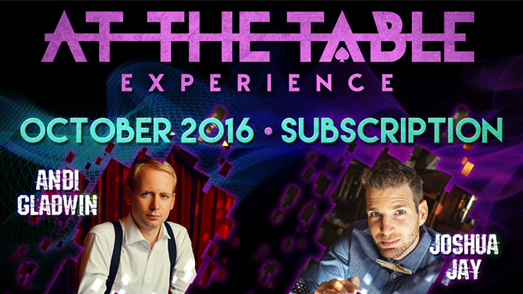 At The Table October 2016 Subscription video DOWNLOAD - MichaelClose.com