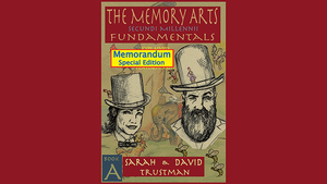 The Memory Arts, Book A - Memorandum Edition by Sarah and David Trustman eBook DOWNLOAD - MichaelClose.com
