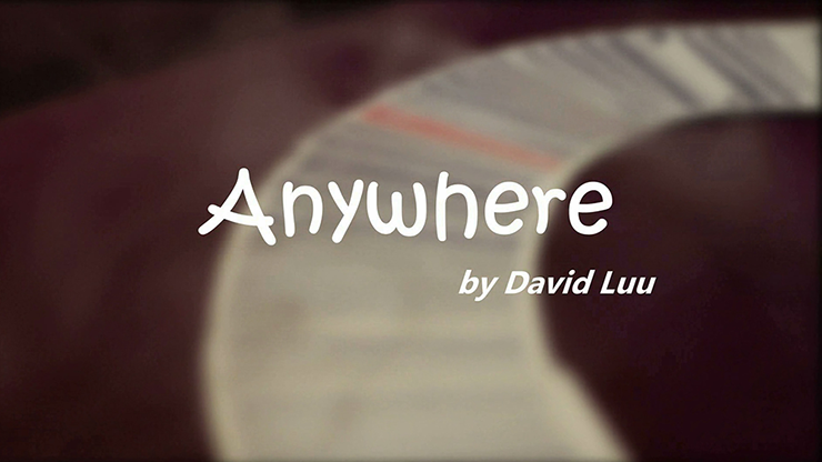 Anywhere by David Luu video DOWNLOAD - MichaelClose.com