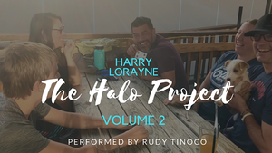 The Halo Project Volume 2 by Harry Lorayne Performed by Rudy Tinoco video