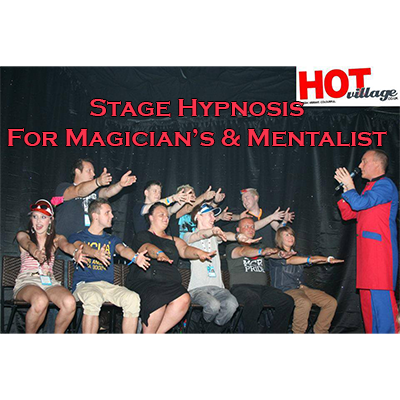 Stage Hypnosis for Magicians & Mentalists by Jonathan Royle - Mixed Media DOWNLOAD - MichaelClose.com