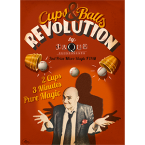 The Cups and Balls Revolution (English) by Jaque - MichaelClose.com