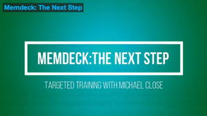Memdeck - The Next Step