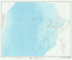 Mid Ocean Dynamics Experiment Mode-i Region Bathymetry Chart 1