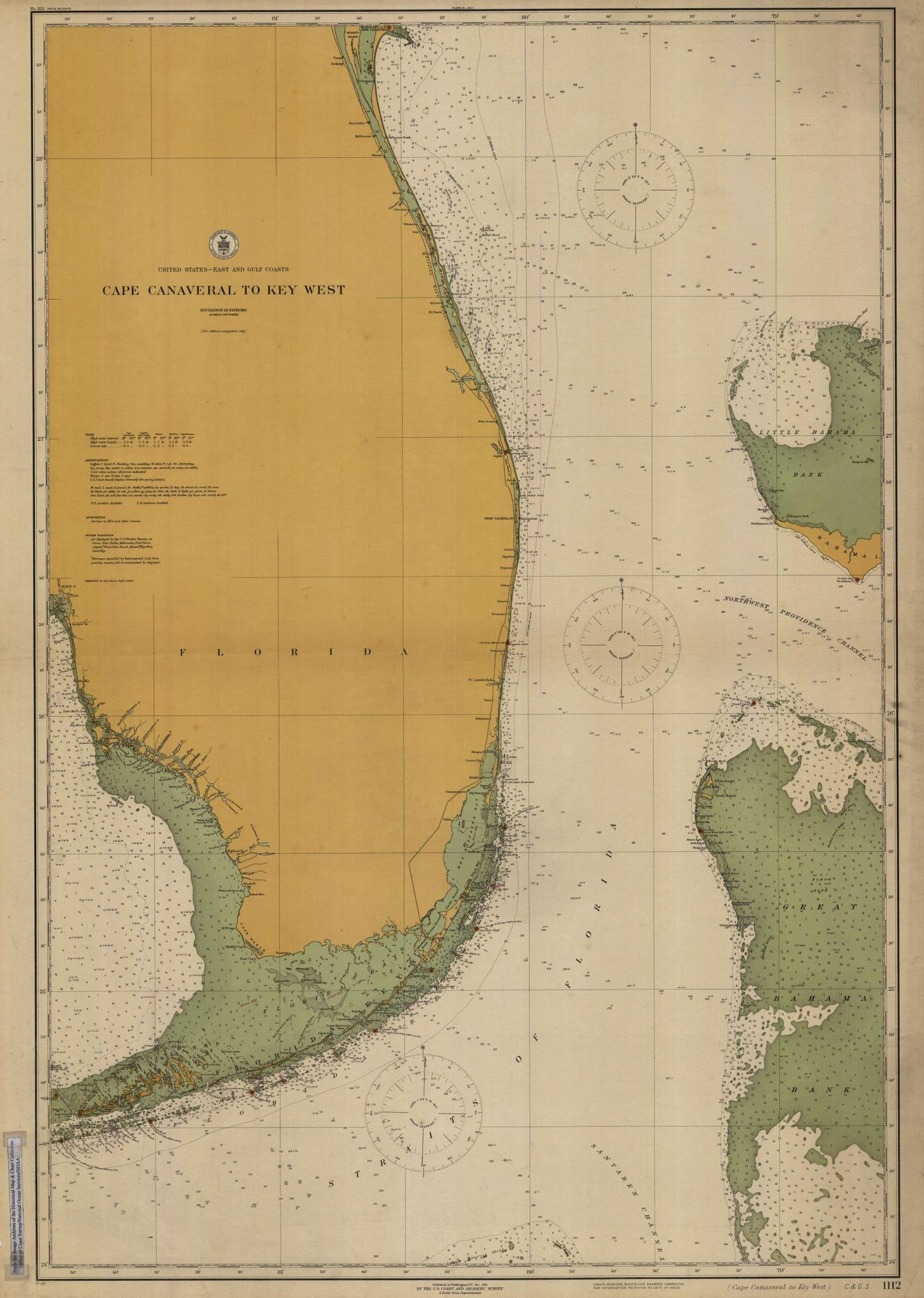 image regarding Printable Map of Key West titled Cape Canaveral In direction of Solution West Print