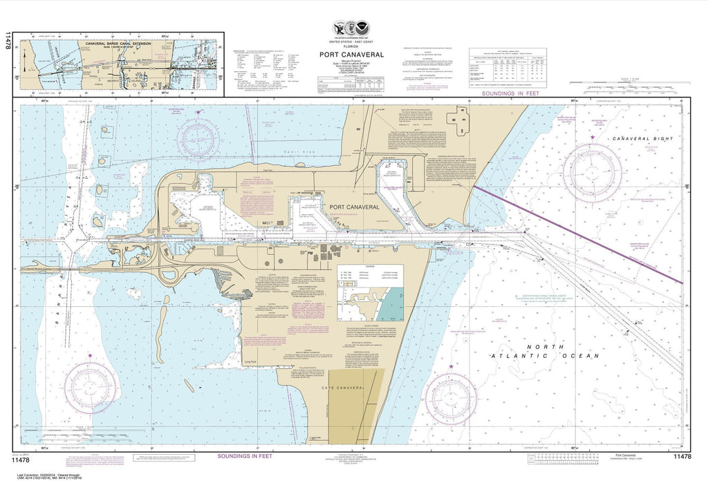 Port Canaveral;canaveral Barge Canal Extension