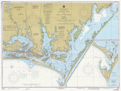 Beaufort Inlet And Part Of Core Sound