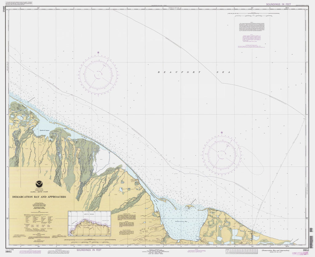 Demarcation Bay And Approaches
