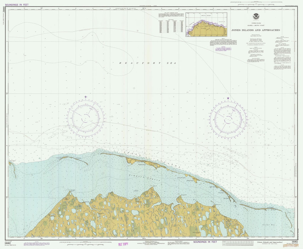 Jones Islands And Approaches