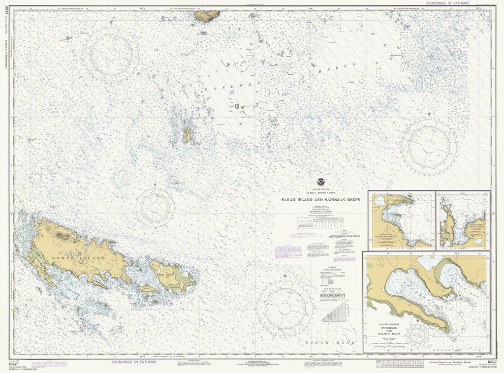 Sanak Island And Sandman Reefs