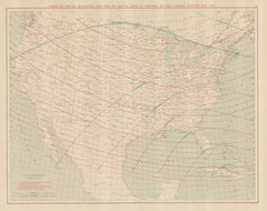 Lines Of Equal Magnetic Dip And Of Equal Annual Change In The United States For 1925