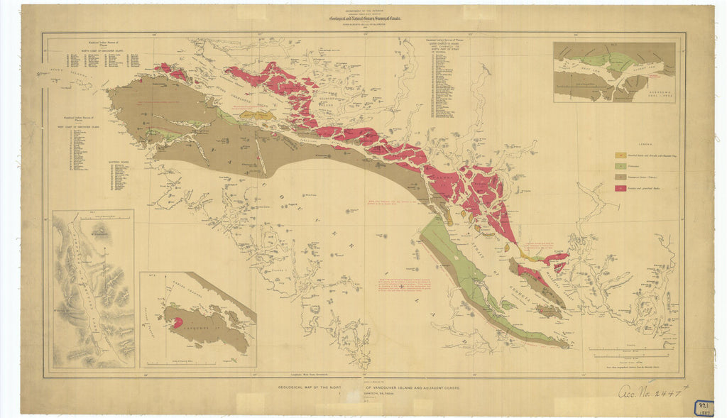 Print of Geological And Natural History Survey Of Canada And ... on