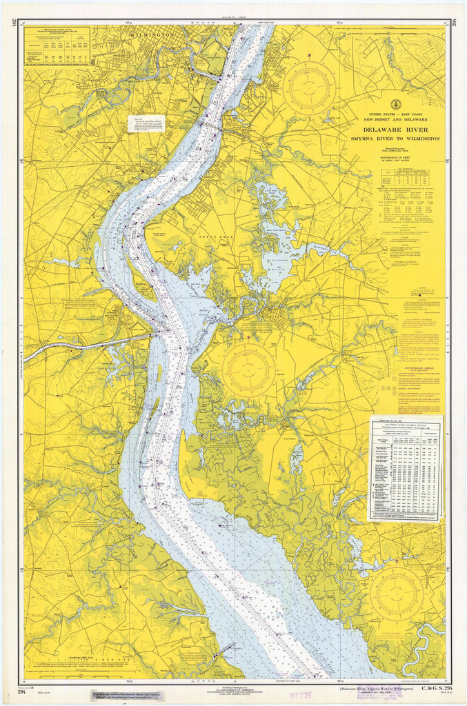 Delaware River, Smyrna River To Wilmington