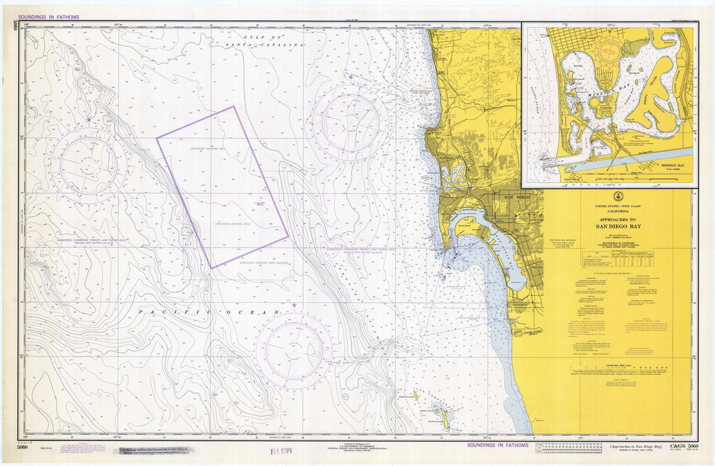 Approaches To San Diego Bay