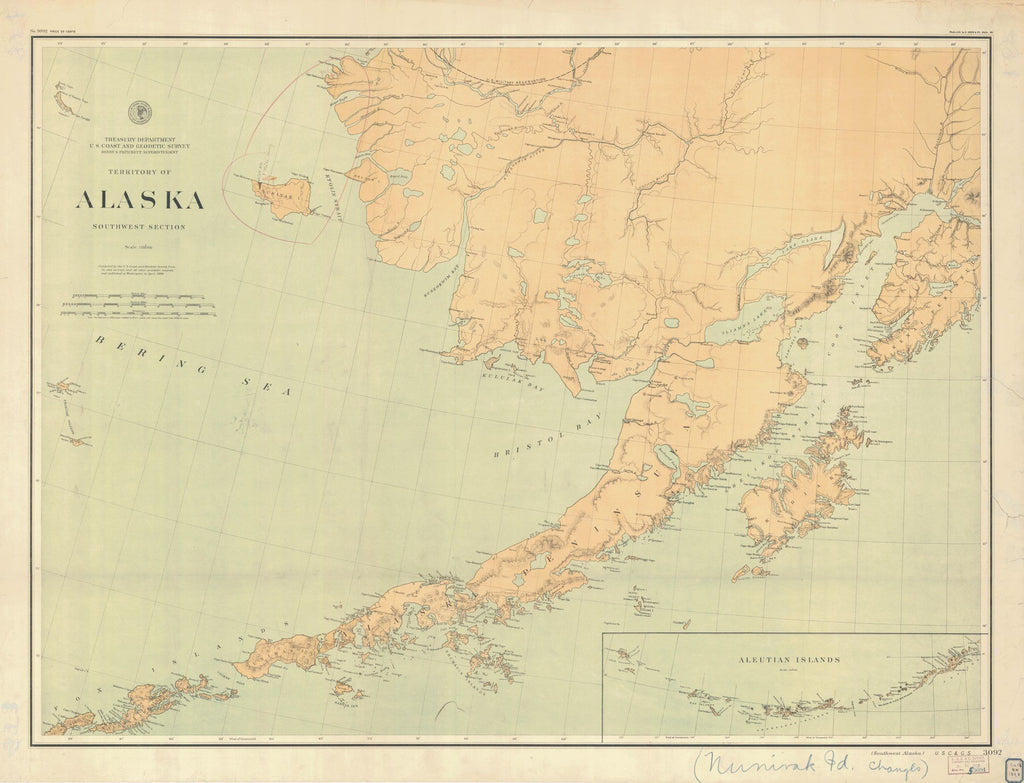 Territory Of Alaska Southwest Section