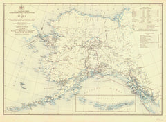 Us Signal Corps Telegraph And Cable System In Alaska And Us Cables And Canadian Line Connecting With The United States