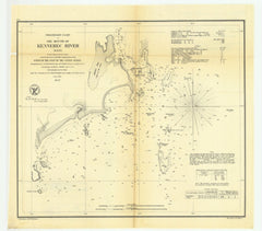 Preliminary Chart Of The Mouth Of Kennebec River, Maine