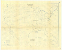 No. 6. Map Showing Lines Of Geodetic Leveling Run, And Positions Of Gravity Stations Tti June 30, 1891.