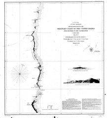 Reconnaissance Of The Western Coast Of The United States From Monterey To The Columbia River, Sheet 2