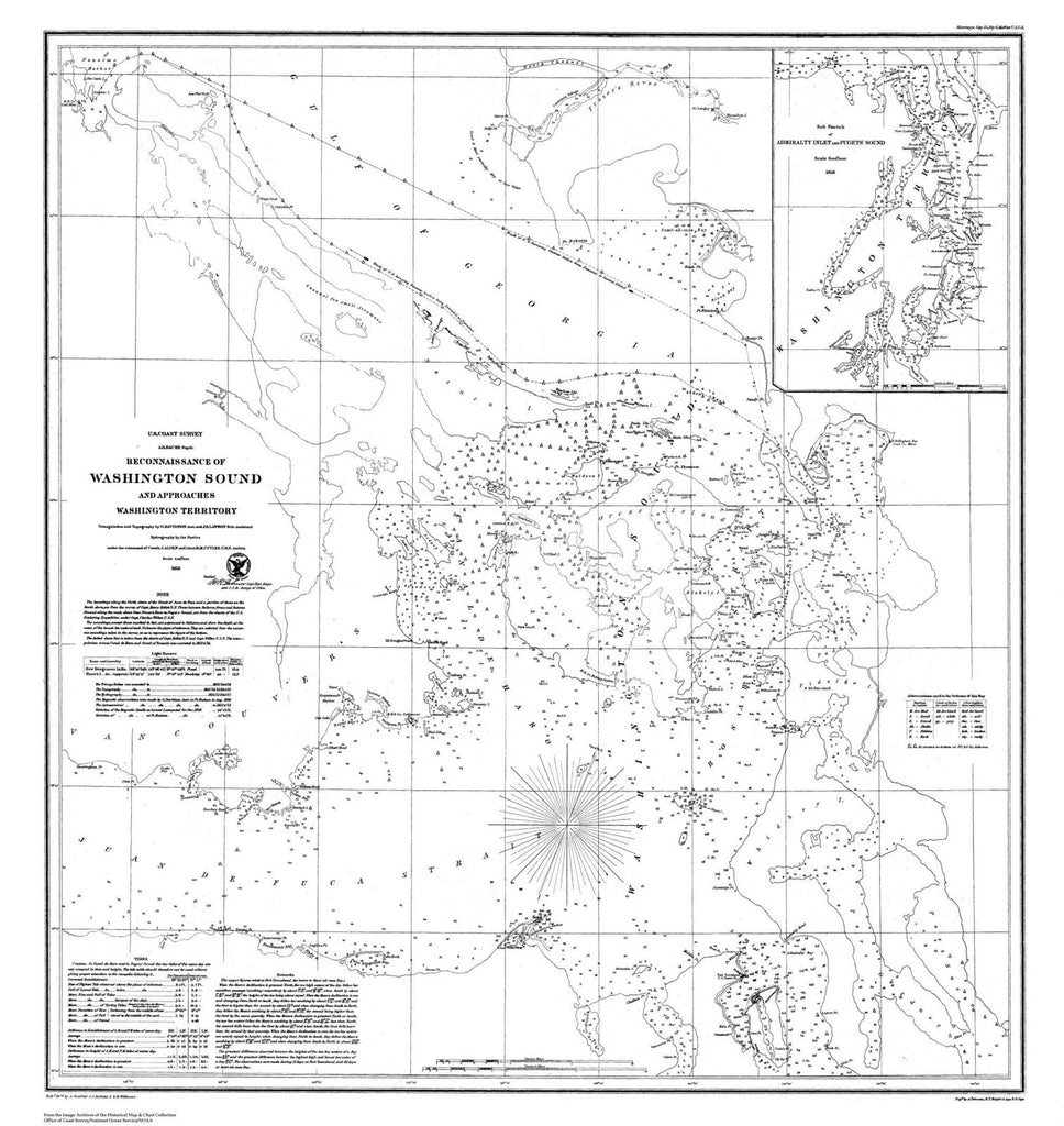 Reconnaissance Of Washington Sound And Approaches, Washington Territory