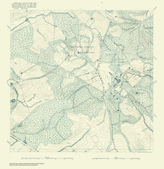 Topographic Map Of Washington And Vicinity, Sheet 14