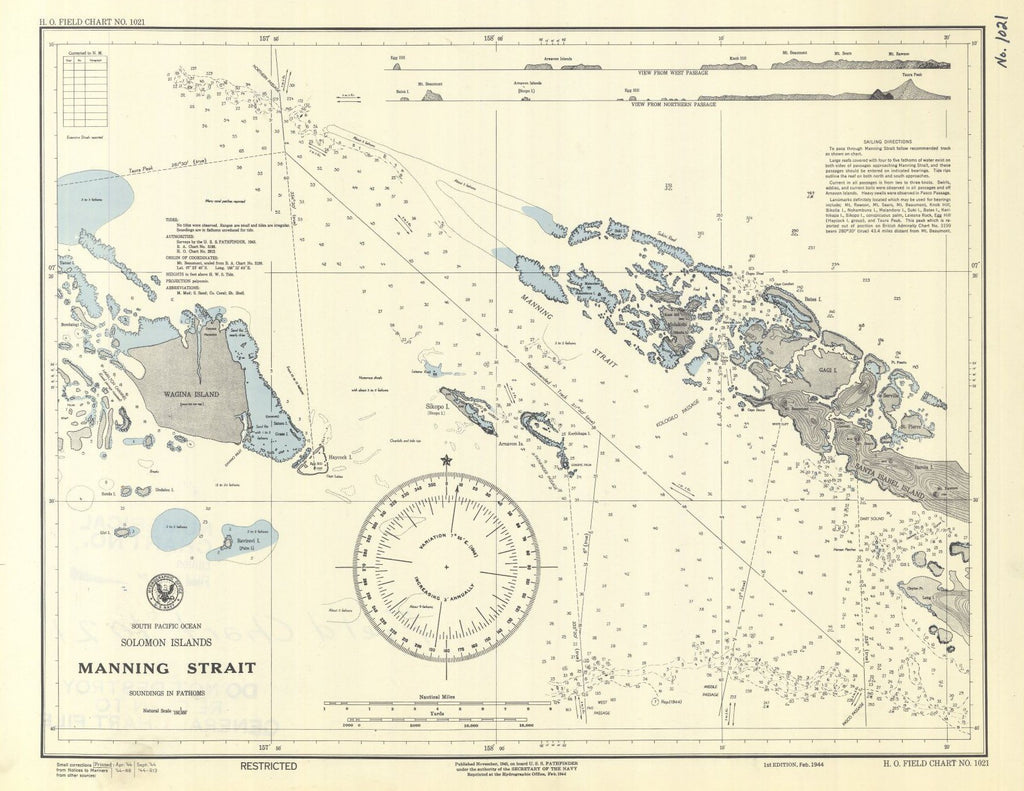 Solomon Islands Manning Strait