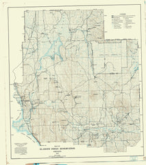 Map Of Klamath Indian Reservation