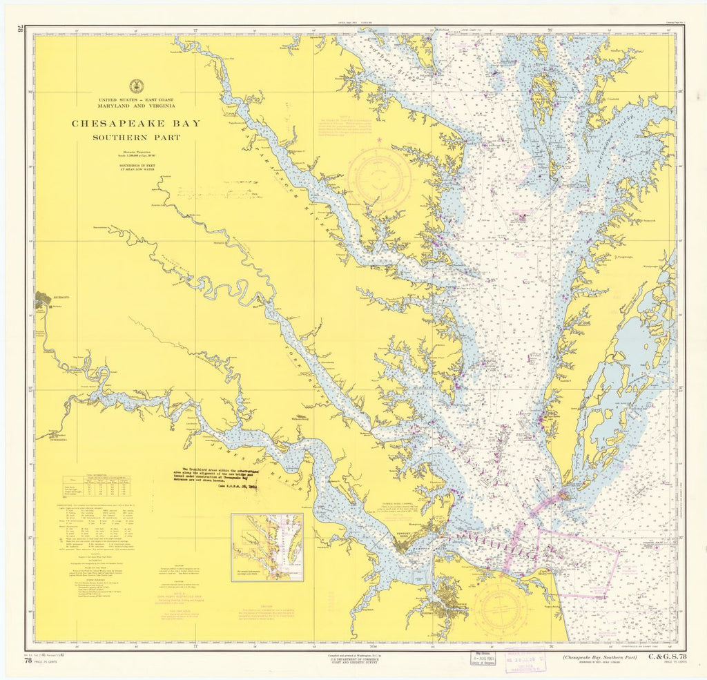 Chesapeake Bay, Southern Part