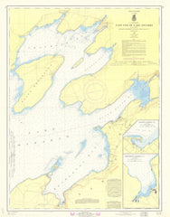 East End Of Lake Ontario Including Chaumont, Henderson And Black River Bays, N.y.