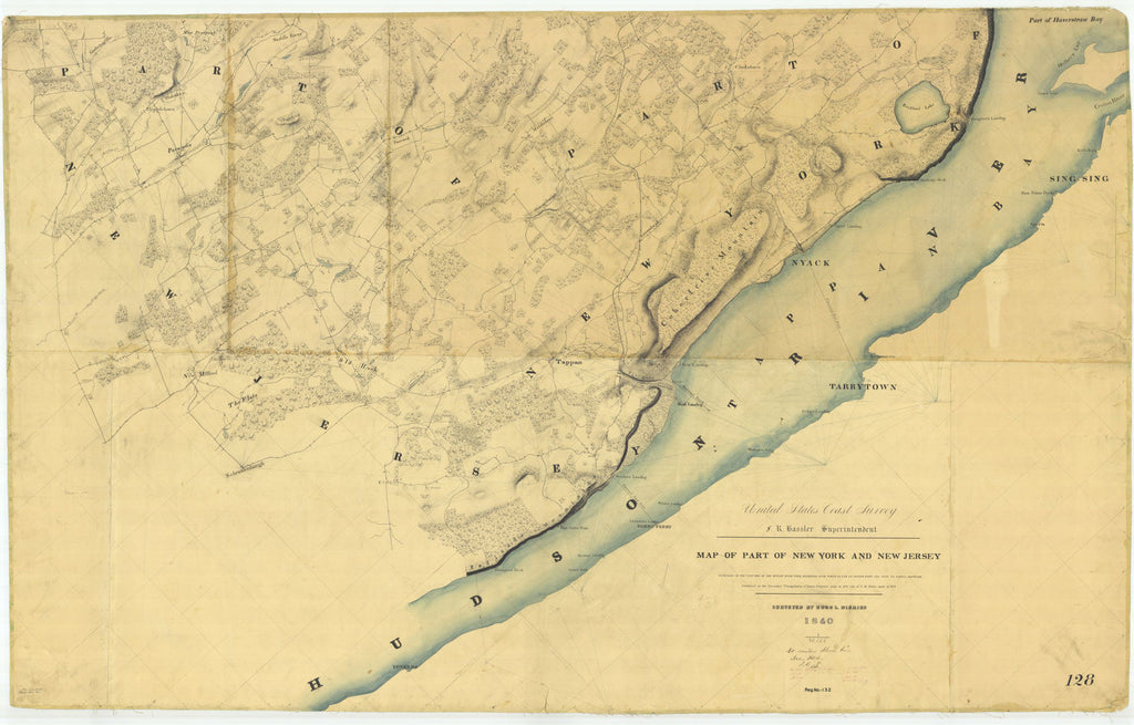 Map Of Part Of New York And New Jersey