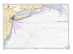 Approaches To New York, Nantucket Shoals To Five Fathom Bank