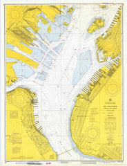 New York Harbor, Upper Bay And Narrows