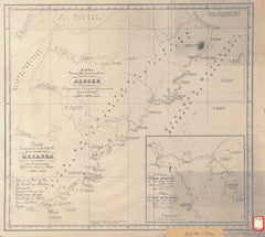 Chart Of Port Of The Se Coast Of Alaska Peninsula