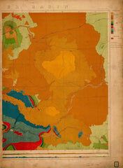 Green River Basin Map No. 2 East Half