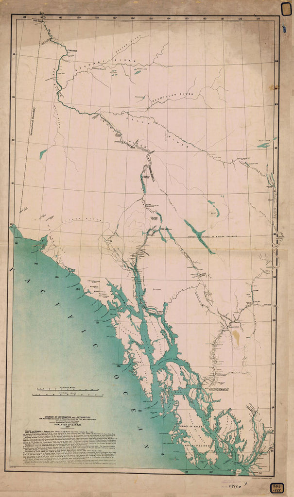 Northwest Coast Dominion Of Canada