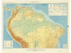 South America - Sheet North Map Of The Americas
