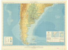 South America - Sheet South Map Of The Americas