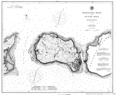 Nautical Chart Of Robinsons Hole And Quicks Hole