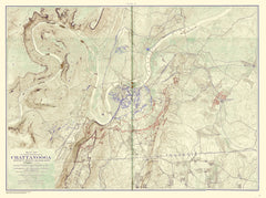 Chickamauga Battle, 1901 Ed., Movements Against Orchard's Knob, Nov. 23, 1863