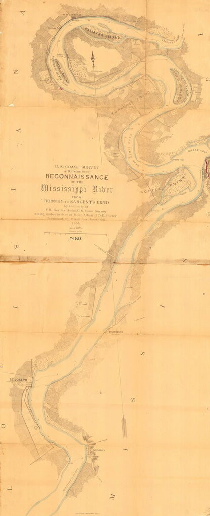 Reconnaissance Of The Mississippi River From Rodney To Sargents Bend