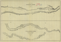 Sheet #7 Of Columbia River, Willamette River And Wapauto Branch Or Lower Willamette