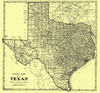 Clason's Guide Map Of Texas
