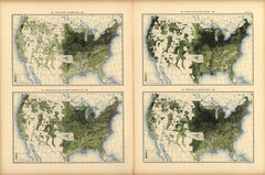 Yield of oats per square mile: 1890