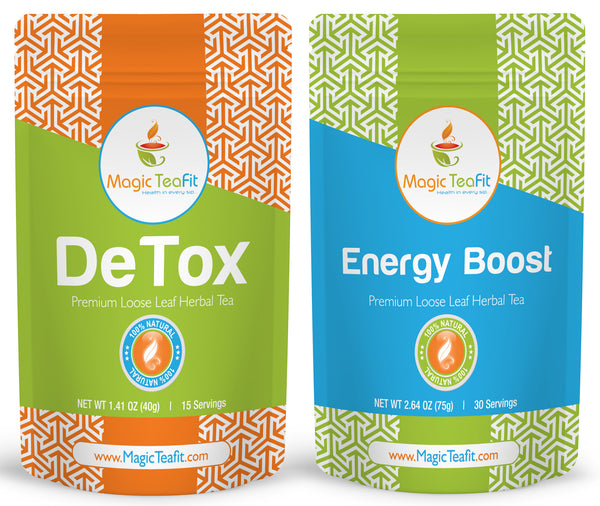 100% Organic DeTox and Energy Boost Teatox