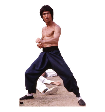 Bruce Lee Fight Stance Cardboard Standup